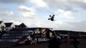 ATV Backflip Fail