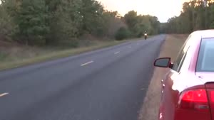 High-Speed Wheelie Fail