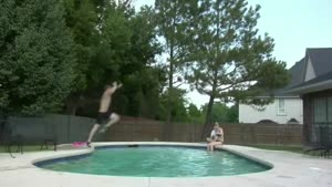 Pool  Jump Accident