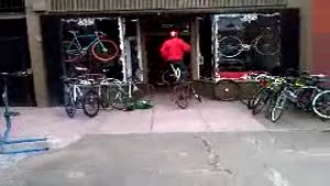 Bicycle Dismount Fail