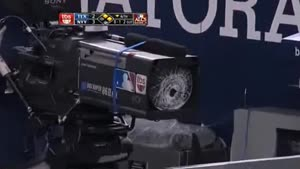 Baseball Bat Damages Expensive Camera