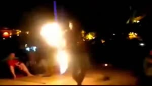 Fire Twirler Fail
