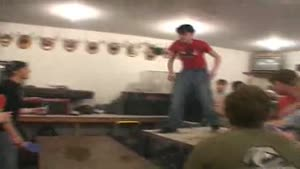 Drunken Idiot vs. Table