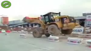 Insane Driving Skills With Excavator