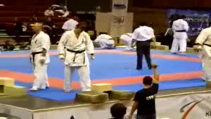 Karate Demo Fail
