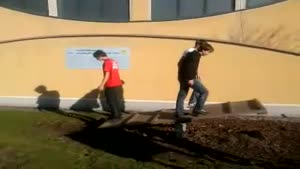 Human Catapult Fail