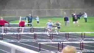 Hurdle race epic fail