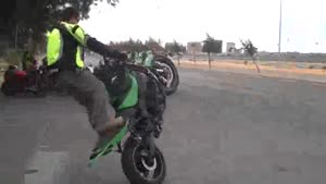 Motorcycle Stunt Fail