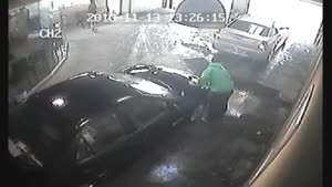 Car Wash Accident