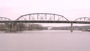 Bridge Demolition Over Illinois River