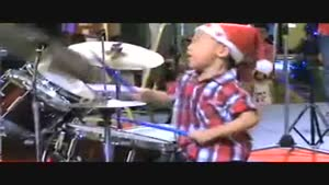 Smallest Drummer Ever