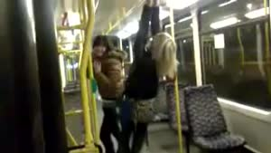 Subway Fail Stunt