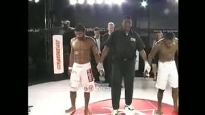 MMA Fighter Eder Jones Vomits After Win