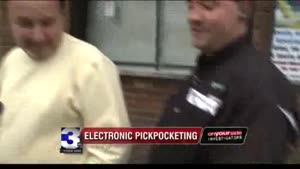 Electronic Pickpocketing Public Awareness