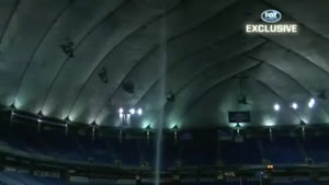 Stadium Roof Collapse By Heavy Snowfall