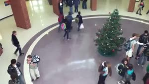 Kid Ruins Christmas Tree