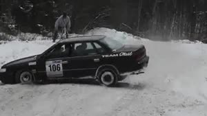 Rally Car Rail Slide