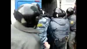 Russian Arrest Fail