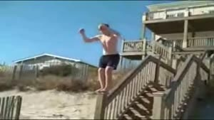 Beach Flip Failure