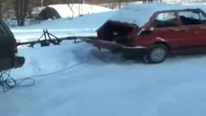 Low Budget Car Towing