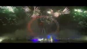 London's Spectacular Midnight Fireworks