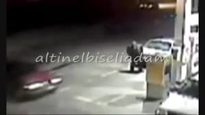 Accident At The Gas Station
