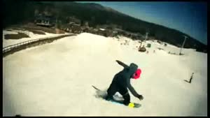 Dude Lands Impossible Snowboarding Trick