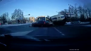 Russian Crossroads Crash