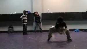 Kids Freestyling Krumping