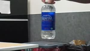 Hiding Contraband In A Bottle Of Water
