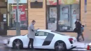 Pathetic Audi R8 Prank