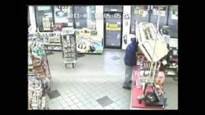 Clerk Foils Robbery Attempt With Samurai Sword