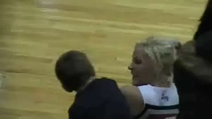 Little Boy Wants To Kiss A Cheerleader