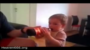 Dad Gives Beer To Baby