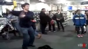 Kinect Thriller Dance Slap