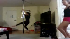 Another Teenage Pole Dance Fail