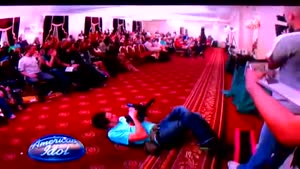 American Idol Show Off Fail