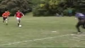 Huge Soccer Fail