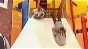 Hot Game Show Host Faceplants Badly