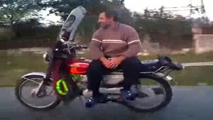 Relaxing Motorcycle Ride