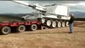 Huge Tank Loading Fail