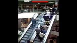 Escalator Battle