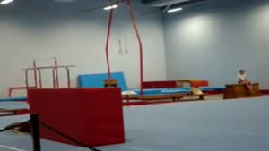 Painful Gymnastics Fail