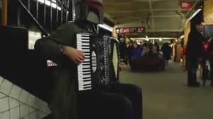 Boba Fett Plays Zelda on Accordion
