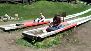 Alpine Slide Fail