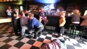 Staged Midget Bar Brawl