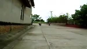 Amazing 360 Turn On Front Wheel