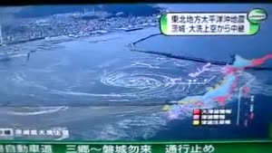 Whirlpool Effect Post Tsunami