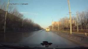 Dash Cam Traffic Light Accident
