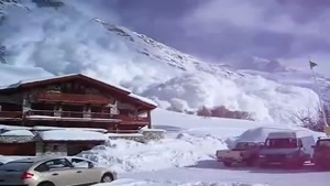 Footage Of An Avalanche